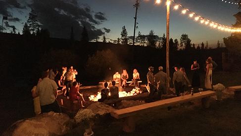 Rawah Guest Ranch Colorado Campfire