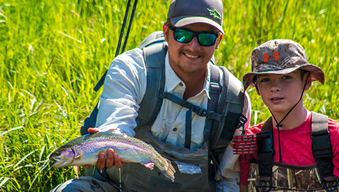 Fly Fishing at Rawah Dude Ranch Colorado
