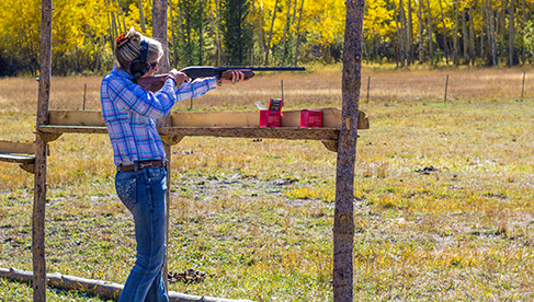 Rawah Guest Ranch Colorado Skeet Shooting