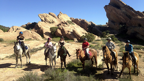Running Horse Ranch California Equestrian Riding Holidays