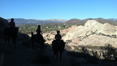 Running Horse Ranch Los Angeles National Forest Equestrian Riding Holidays