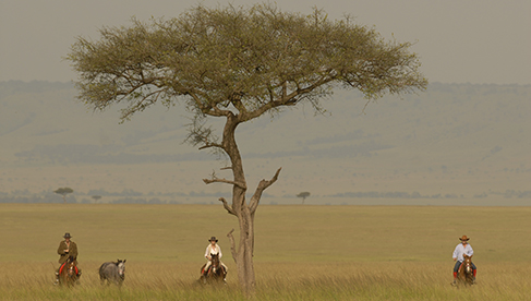 Safaris Unlimited Kenya horseback riding safari