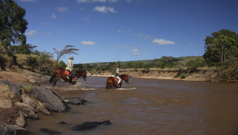 Safaris Unlimited Kenya Africa equine safari