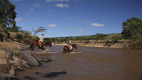 Safaris Unlimited Kenya Africa equine safari