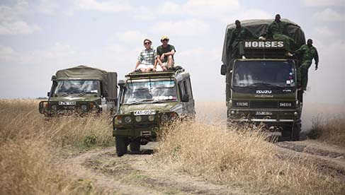 Safaris Unlimited Kenya Africa equestrian holiday