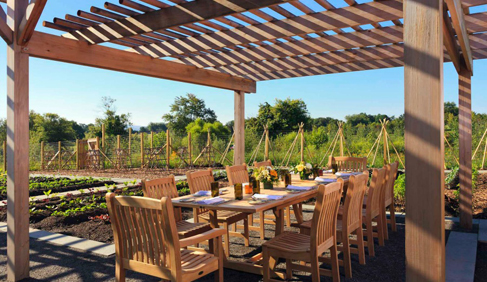 Salamander Resort & Spa Garden Dining