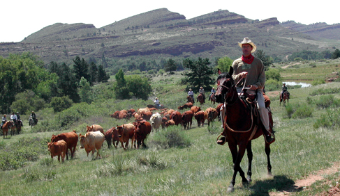 Sylvan Dale Guest Ranch Colorado cattle ranch vacations