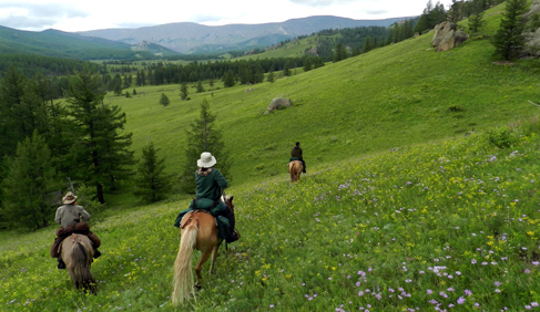Stone Horse Expeditions and Travel Mongolia riding vacations