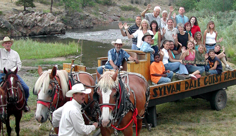 Sylvan Dale Guest Ranch Colorado riding vacations family reunions