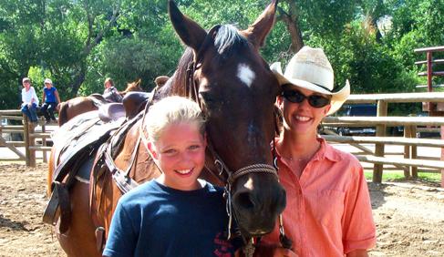 Sylvan Dale Guest Ranch Colorado dude ranch vacations horseback trail riding