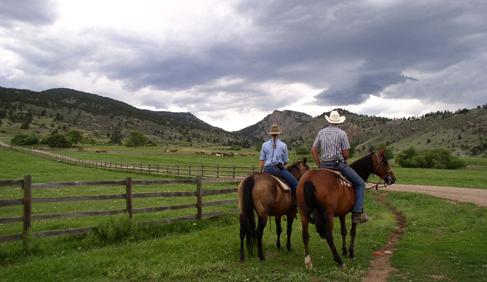 Sylvan Dale Guest Ranch Colorado dude ranch vacations horse riding