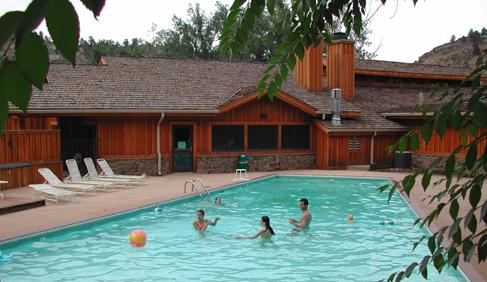Sylvan Dale Guest Ranch Colorado dude ranch vacations swimming pools