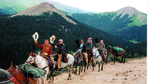 T Bar M Outfitters Colorado and Utah horseback and fishing vacations