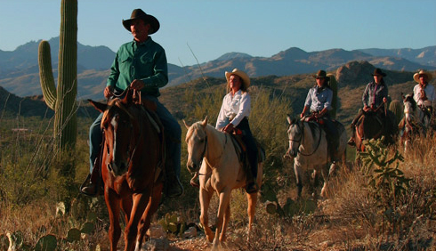 60,000 acres of pristine desert landscape await to be discovered at Tanque Verde Ranch.