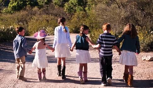 Kids Camp is available for kids ages 4 and older at Tanque Verde Ranch- Arizona Dude Ranch.