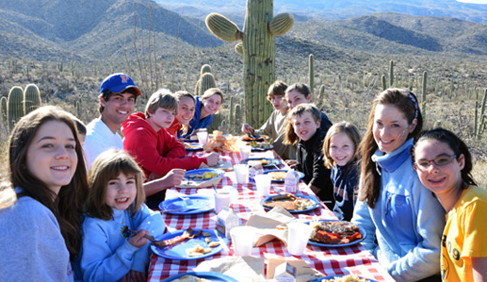A refreshing start to your day, the Breakfast Rides at Tanque Verde Ranch- Arizona Dude Ranch