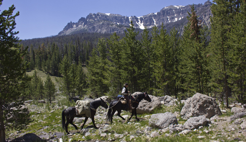 There's no better way to get away from it all than a pack trip in the wilderness at T Cross Ranch- Wyoming Dude Ranch.