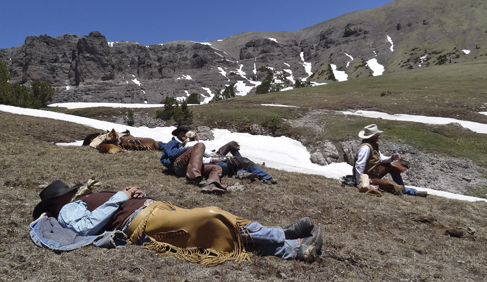 Lunch and a nap at 11,000 feet is unforgettable at T Cross Ranch- Wyoming Dude Ranch.