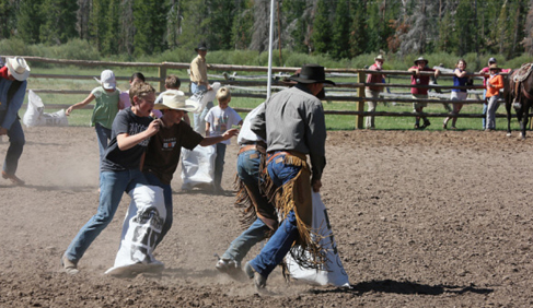 A wide variety of activities keeps both children and adults entertained at T Cross Ranch- Wyoming Dude Ranch.