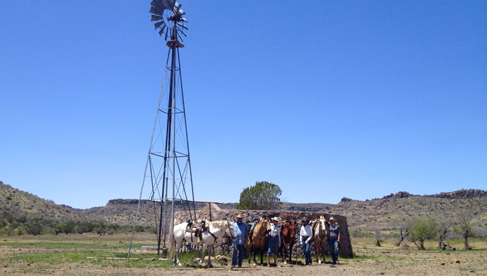 West Texas Davis Mountains Horse Riding Vacations
