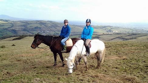 Riding Holidays in Tipperary Ireland