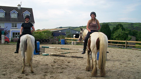 Tipperary Mountain Trekking Centre Ireland childrens horse camps