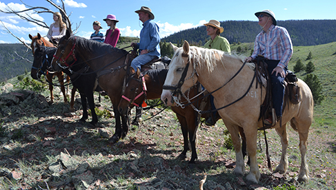 Vee Bar Guest Ranch Diverse Riding Terrain