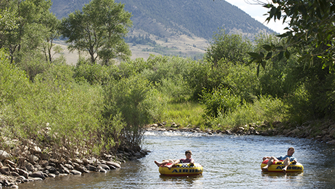 Vee Bar Ranch River Tubing