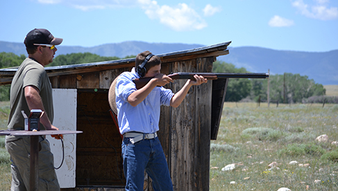 Vee Bar Ranch Trap Shooting