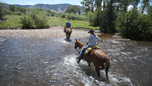 Vee Bar Guest Ranch Horseback Riding