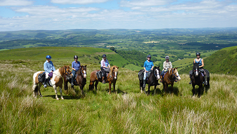 FreeRein Equestrian Holidays in Wales