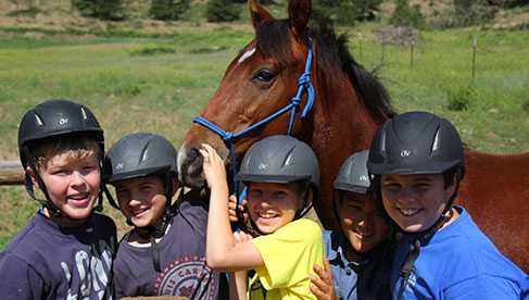 Cheley Colorado Horse Residential Summer Camps