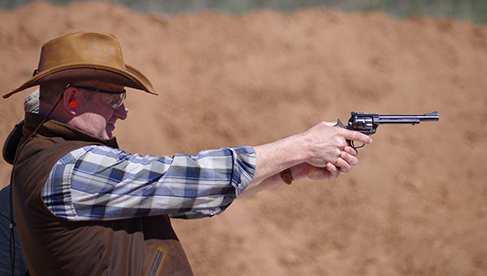 Get Western with the shooting program at White Stallion Ranch