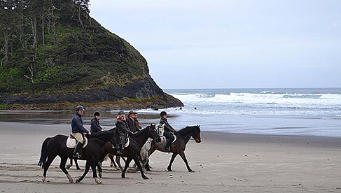 Willamette Coast Ride Oregon Riding Vacations