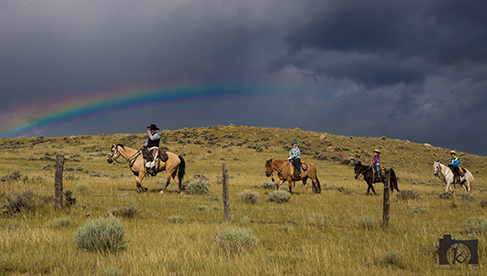 WY dude ranches- Wyoming dude ranch association