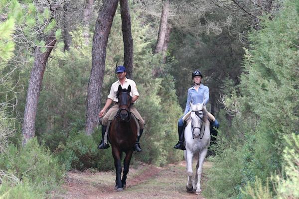 Donana horse riding