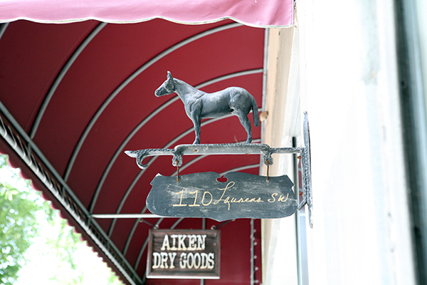 downtown aiken shopping equestrian