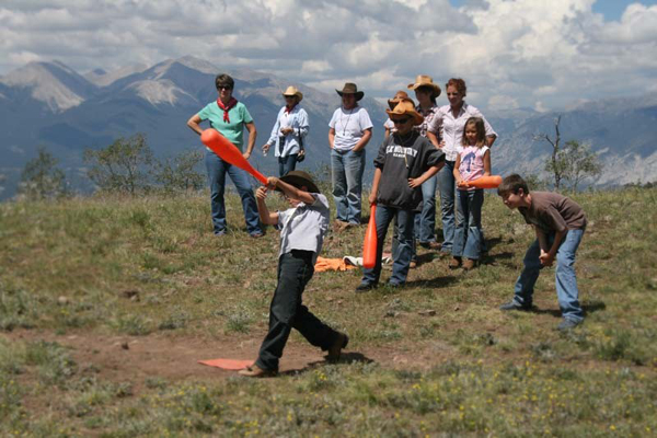 elk mountain ranch colorado guest ranch softball