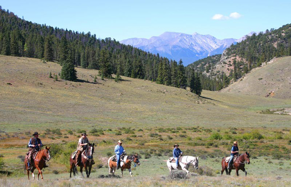 elk mountain ranch colorado horseback riding