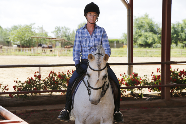 jan norman horseback riding in spain at epona equestrian center