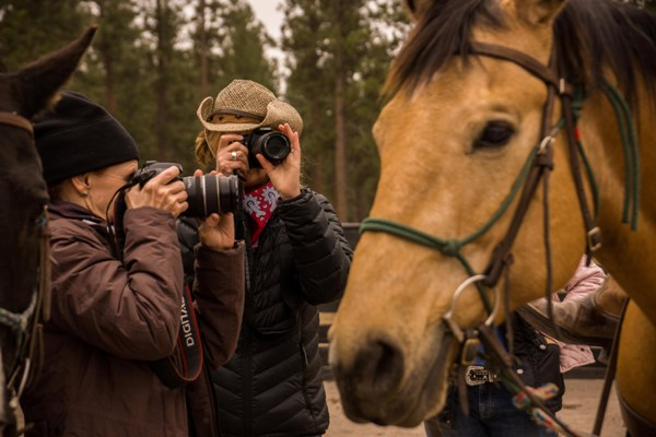 equestrian photography workshop dude ranch