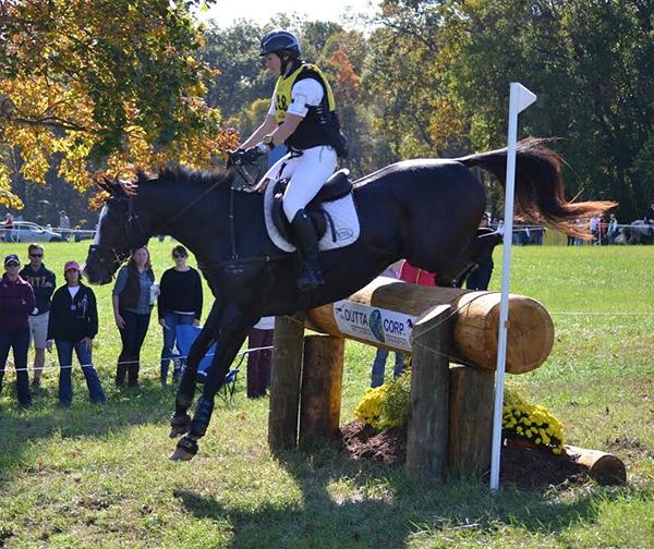 Fair Hill Rolex horseback