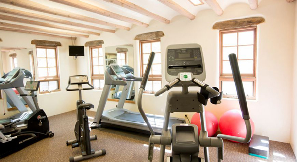 fitness center at tanque verde ranch in tuscon arizona