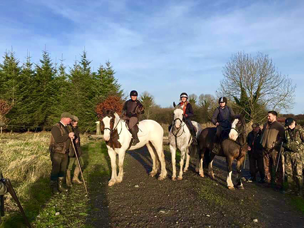 Flowerhill Ireland riding vacations hunt galway