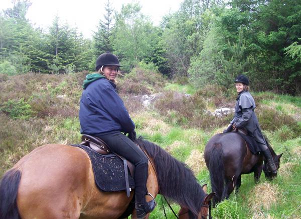 An Sibin horse riding