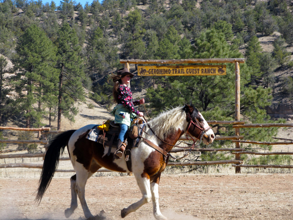 Geronimo Trail Guest Ranch New Mexico arena