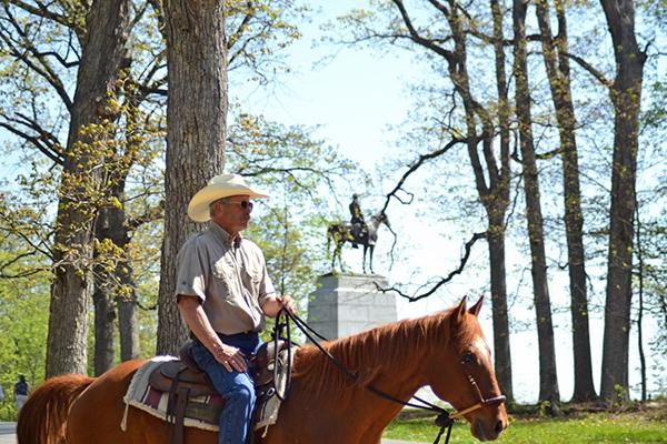 gettysburg horseback tours wrangler pa