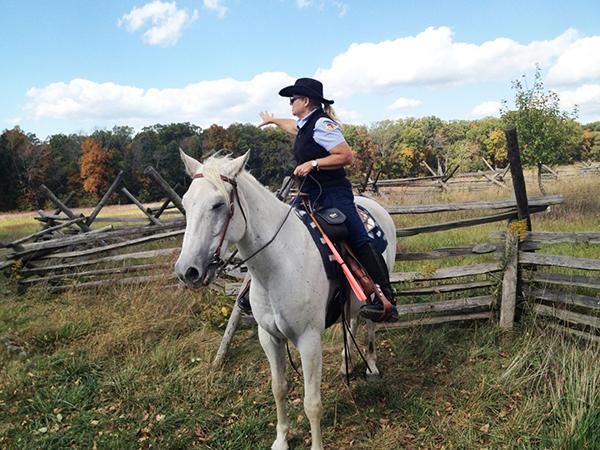 Gettysburg Pennsylvania horseback tours