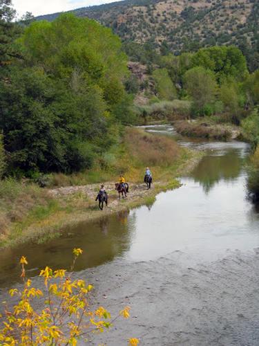 gila horseback riding new mexico
