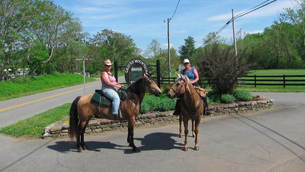 graves mountain lodge horse riding
